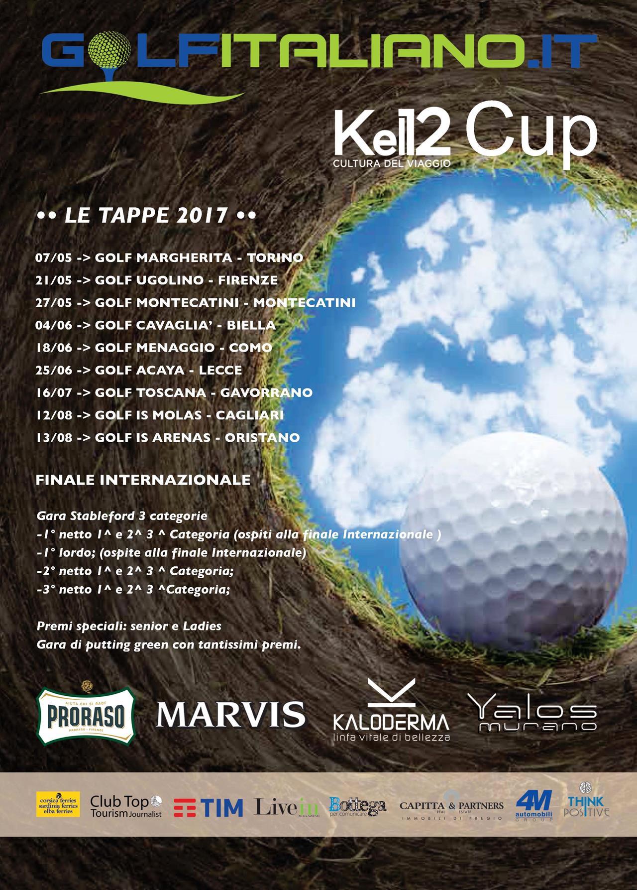 Kel 12 Calendario Viaggi.Golfitaliano Kel 12 Cup